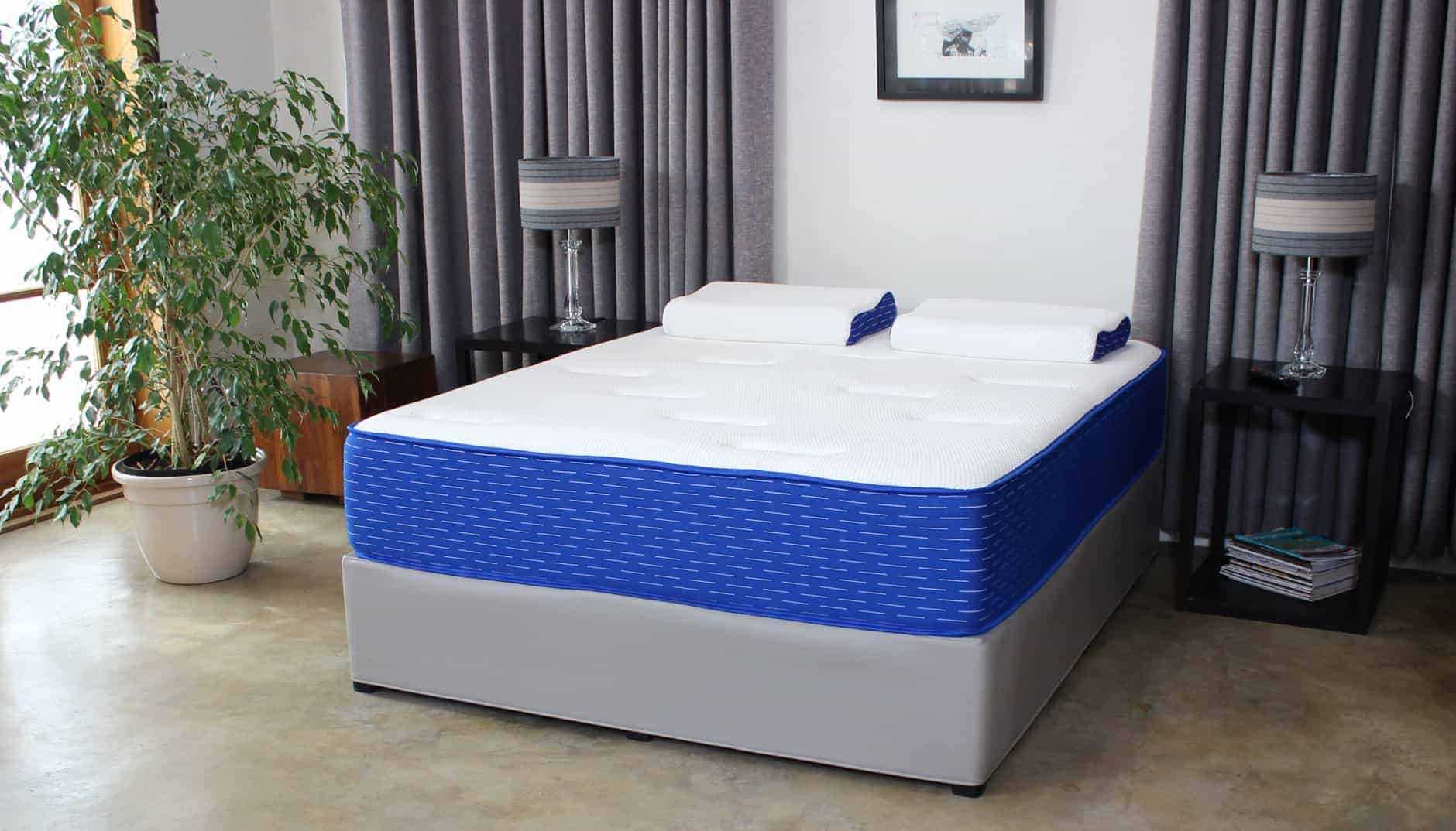 Genie queen size bed