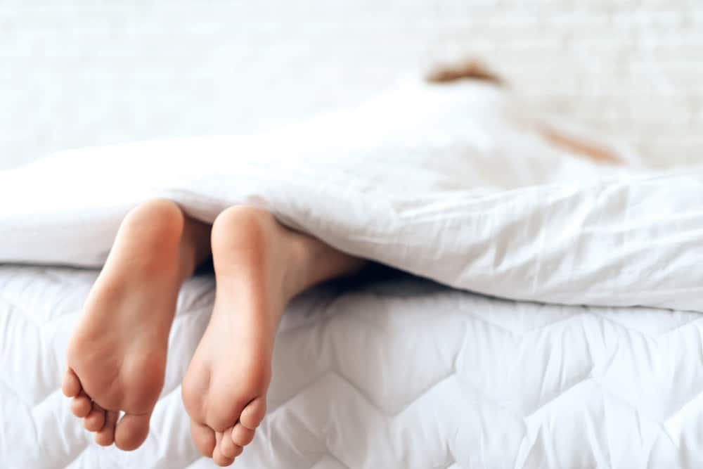 King bed sizes won't leave your feet sticking out of the bed