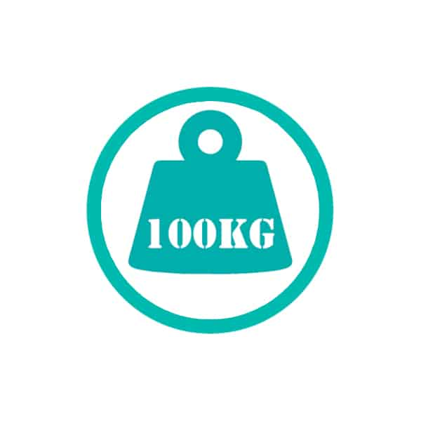100kg weight restriction